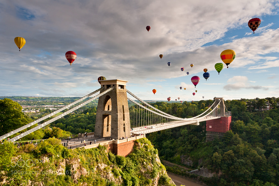 Photograph Bristol Balloon Fiesta by Daugirdas Racys on 500px