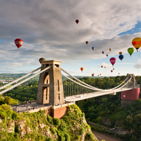 Bristol Balloon Fiesta by Daugirdas Racys (daugirdas)) on 500px.com