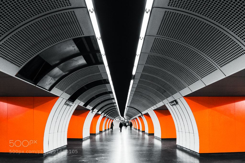 Photograph Vienna Underground System by Felix Zaussinger on 500px
