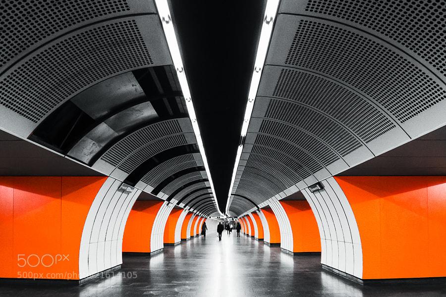Vienna Underground System by Felix Zaussinger (saic749)) on 500px.com
