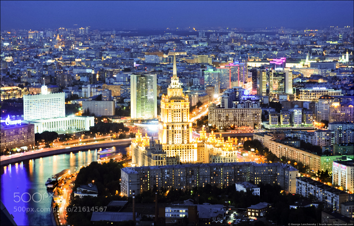 Photograph Evening Moscow by George Lanchevsky on 500px