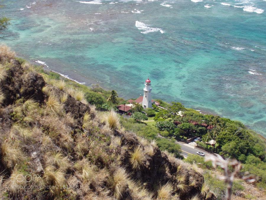 Lighthouse from Summit of Diamond Head