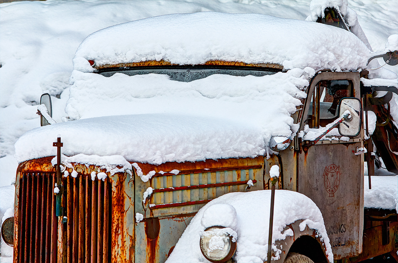 Photograph The Old Truck by Christer Häggqvist on 500px