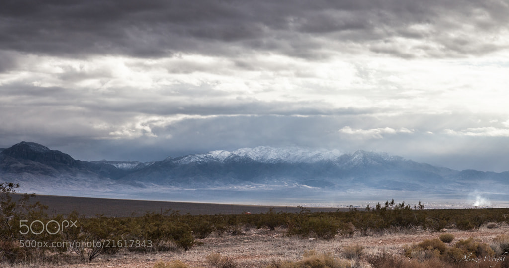 Photograph Snow Capped Mountains by Alonzo Wright on 500px