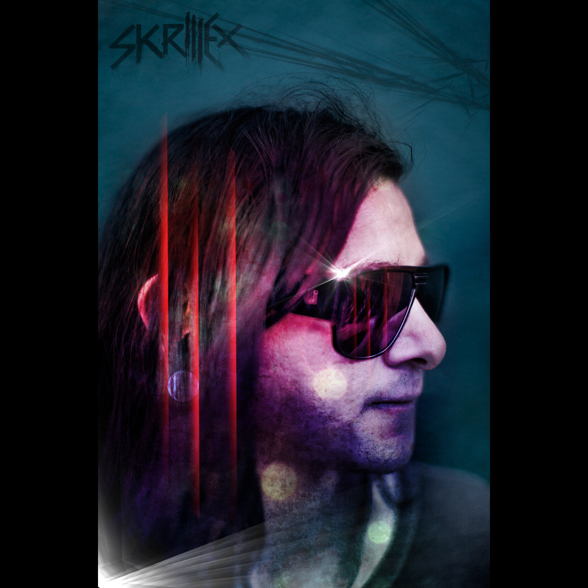 Photograph Yo Skrill Shop It Hard! Sonny Moore (aka Skrillex) Retouch digital painting by JC Plunkett on 500px