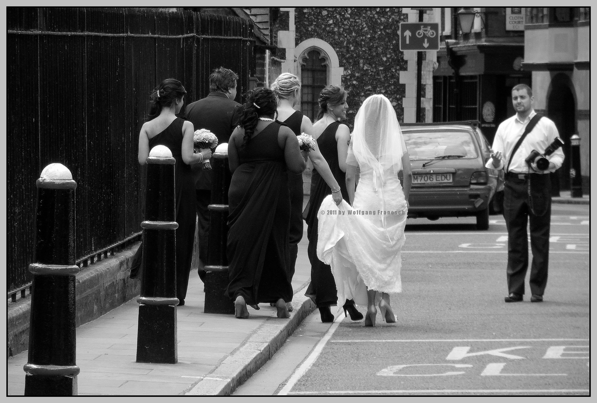 Photograph Here Comes the Bride by Wolfgang Zimmerman on 500px