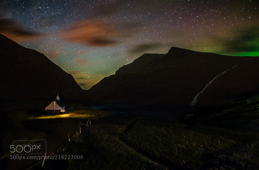 Late night at Saksun - Faroe Islands