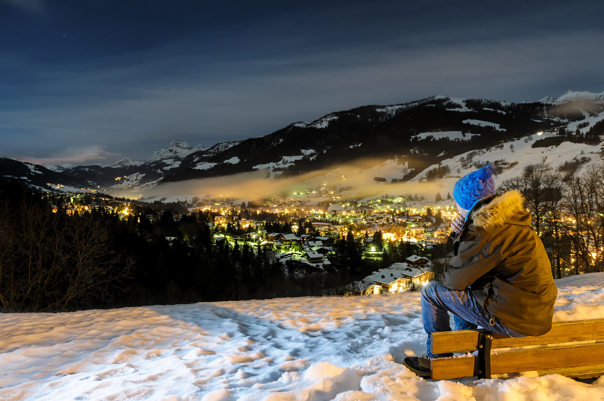 Photograph Waiting for ski by Vincent Charvet on 500px