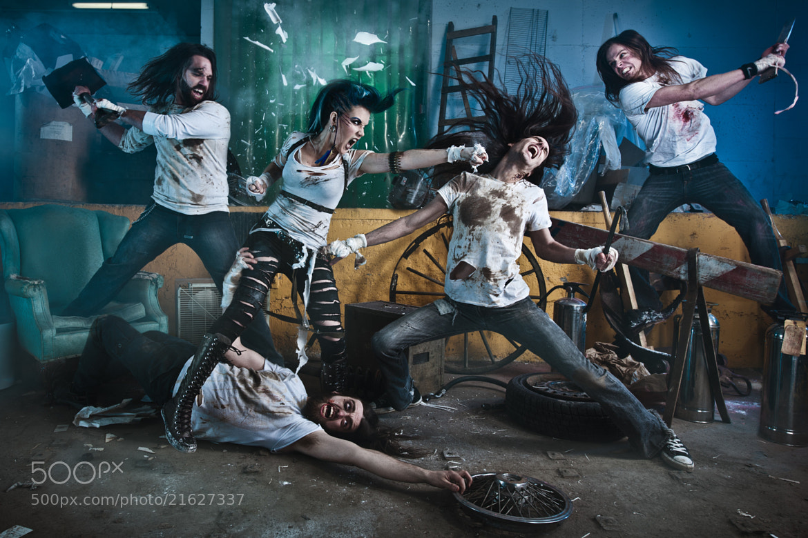 Photograph The Agonist by Benjamin Von Wong on 500px