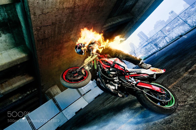 Photograph Flaming Wheelie by Benjamin Von Wong on 500px