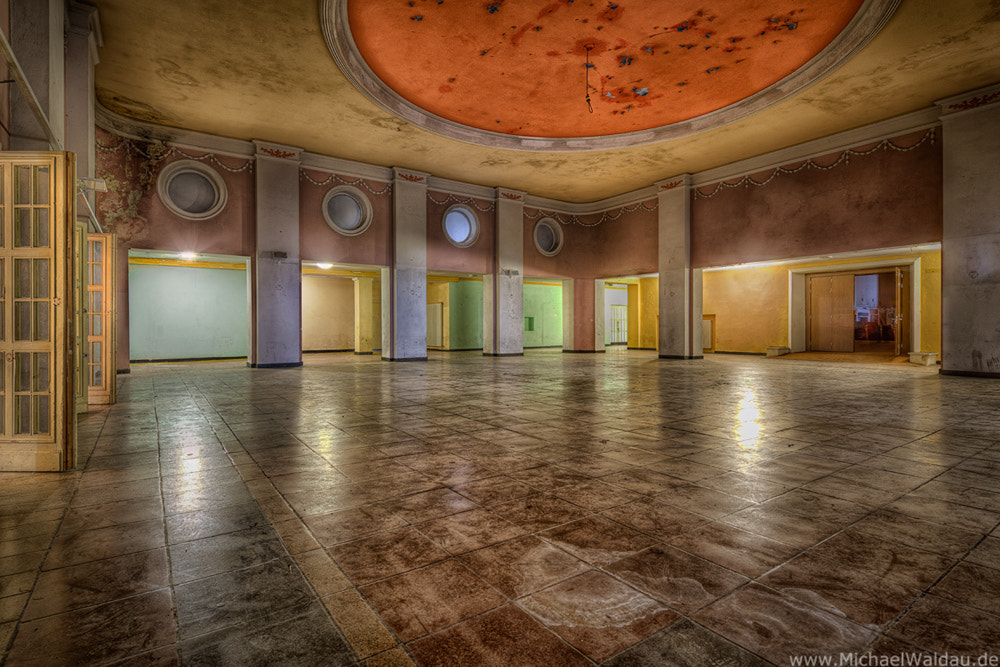 Photograph Forgotten theater (Part III) by Michael Waldau on 500px
