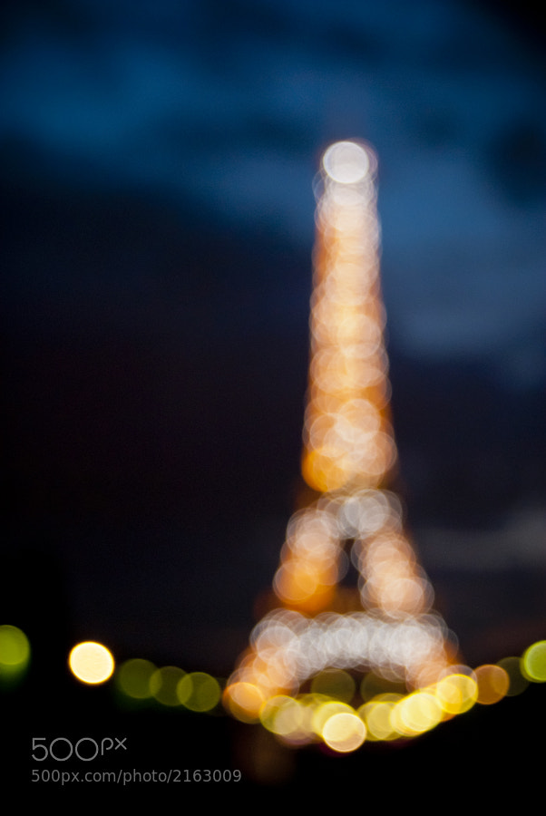 Photograph Blurry Eiffel by Jason Moore on 500px