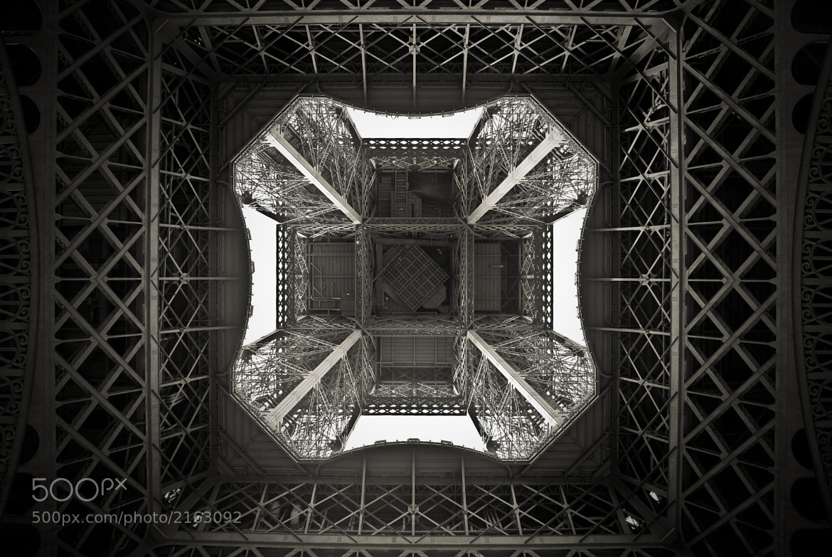 Photograph Eiffel from Below by Jason Moore on 500px