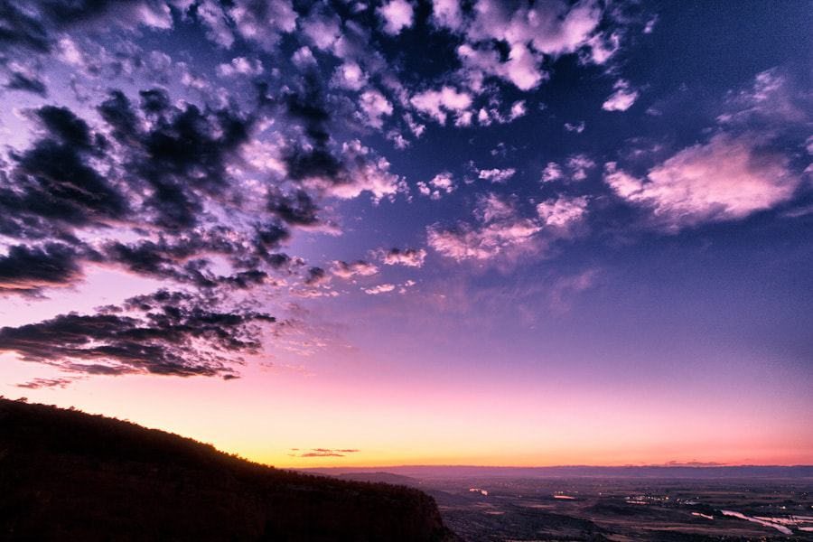 Photograph Sunset at CO National Monument. by Ray Shan on 500px