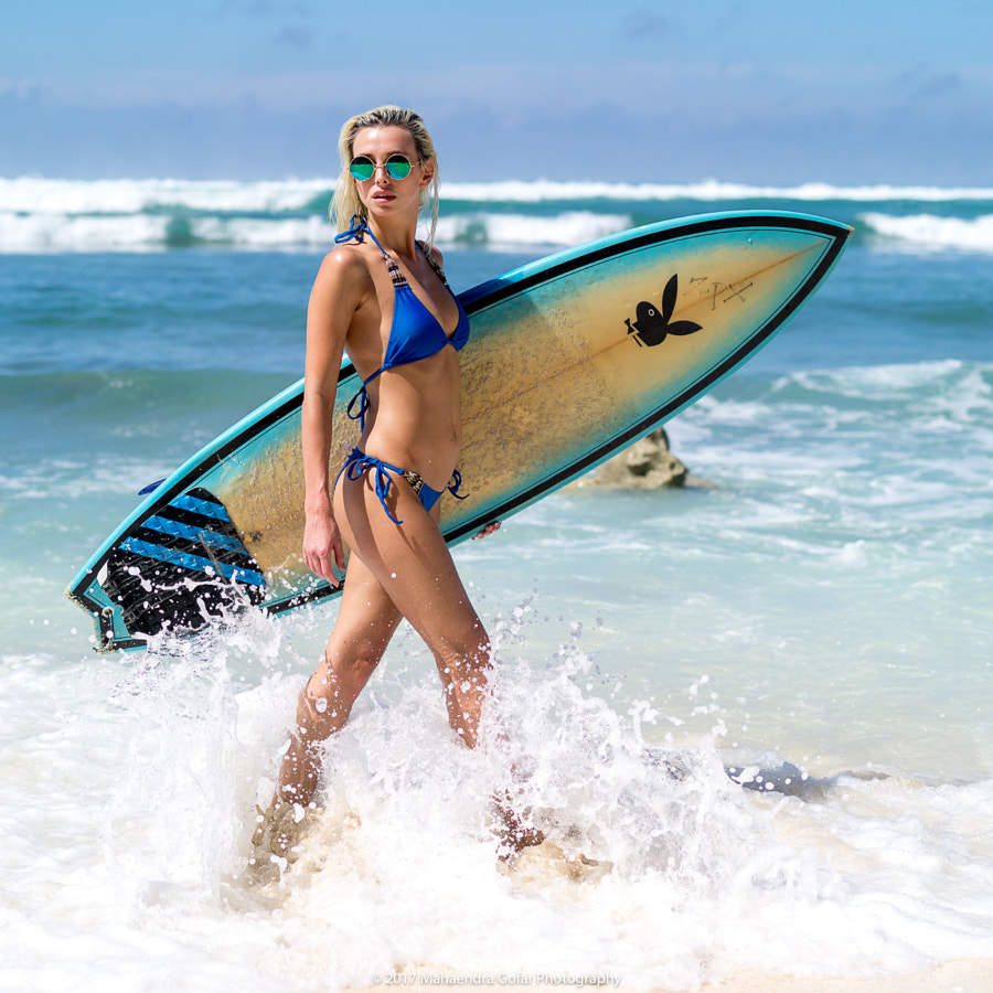 Surfergirl 2 by Mahaendra Gofar on 500px.com