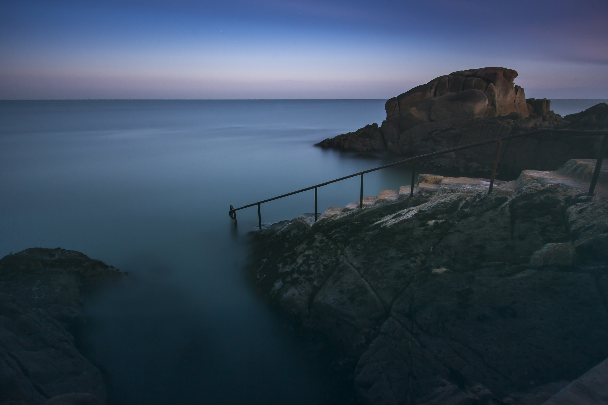 Photograph Sunset at the Forty Foot by Philip Joyce on 500px