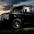 Постер, плакат: Land Rover Defender SVX 60th Anniversary