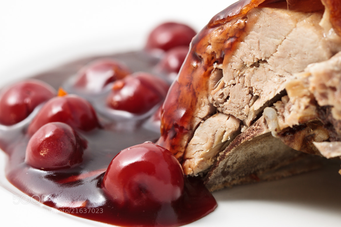Photograph Pork in Cherry Sauce by Zoltán Istvánffy on 500px