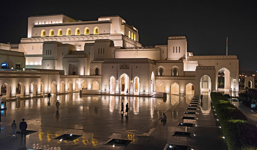 The Royal Opera House In Muscat by Matt MacDonald on 500px.com