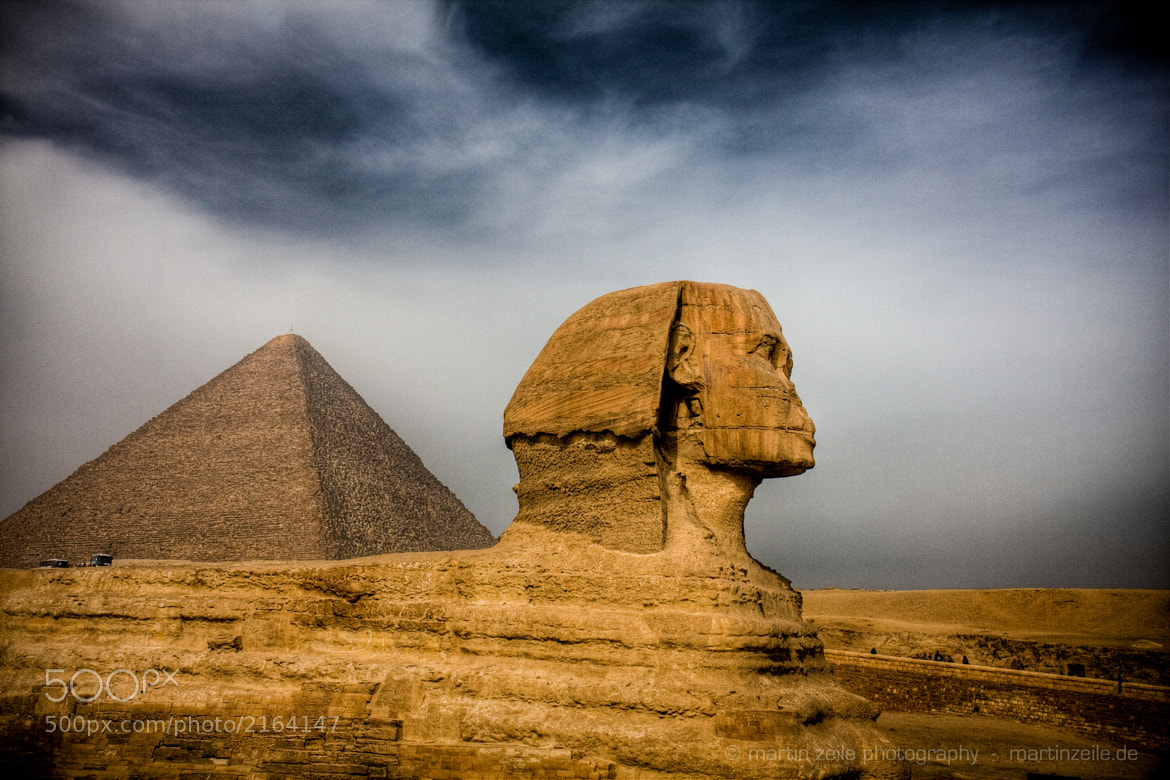 Photograph Sphinx - High Contrast by Dr. Martin Zeile on 500px