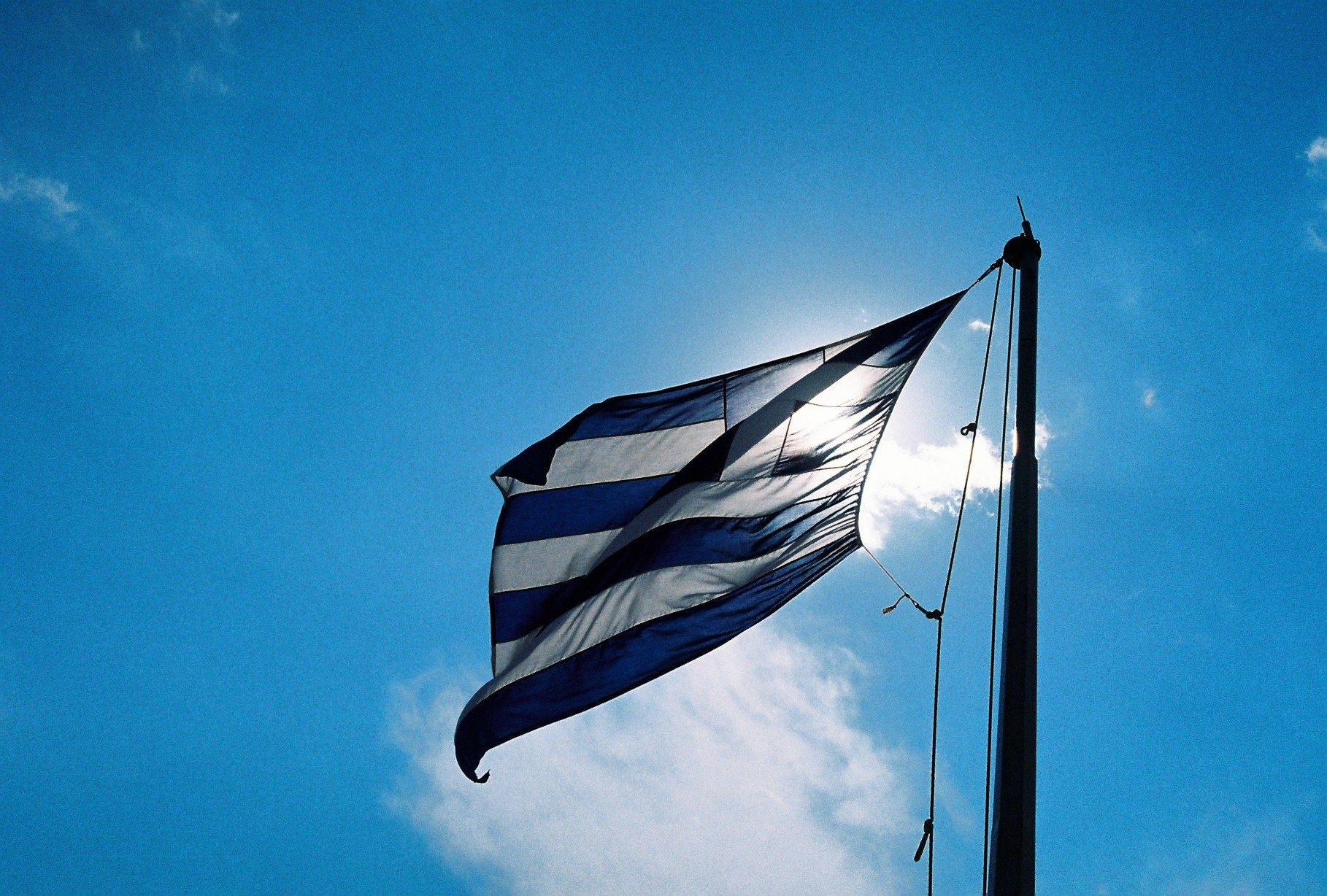 Photograph Greece Flag by Bruno Pedro on 500px