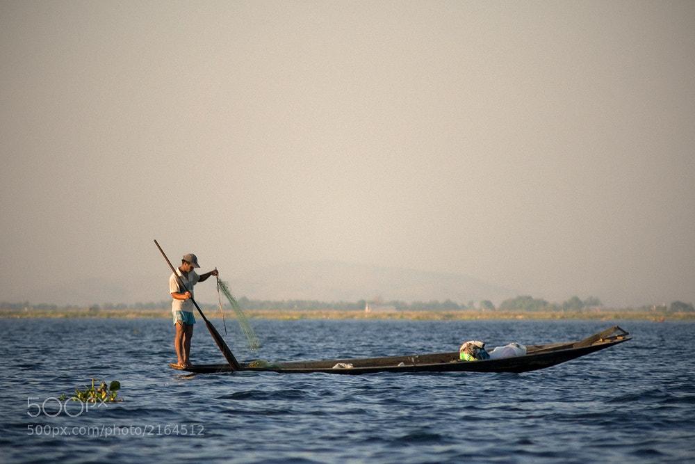 Photograph Inle fisherman by Petr Louzensky on 500px