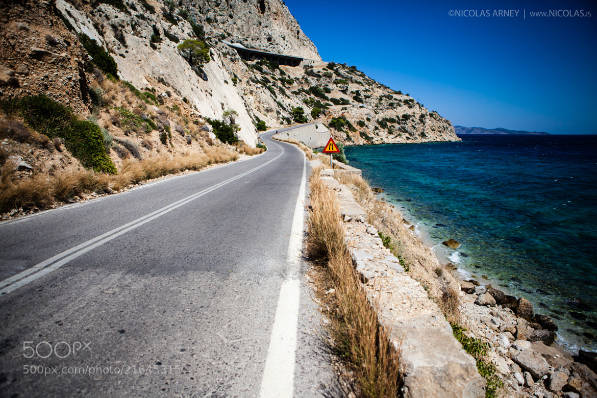 Photograph road to athens by Nicolas Arney on 500px