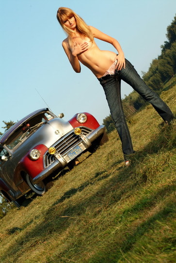 Photograph car and girl by Cheorche Prihonsky on 500px
