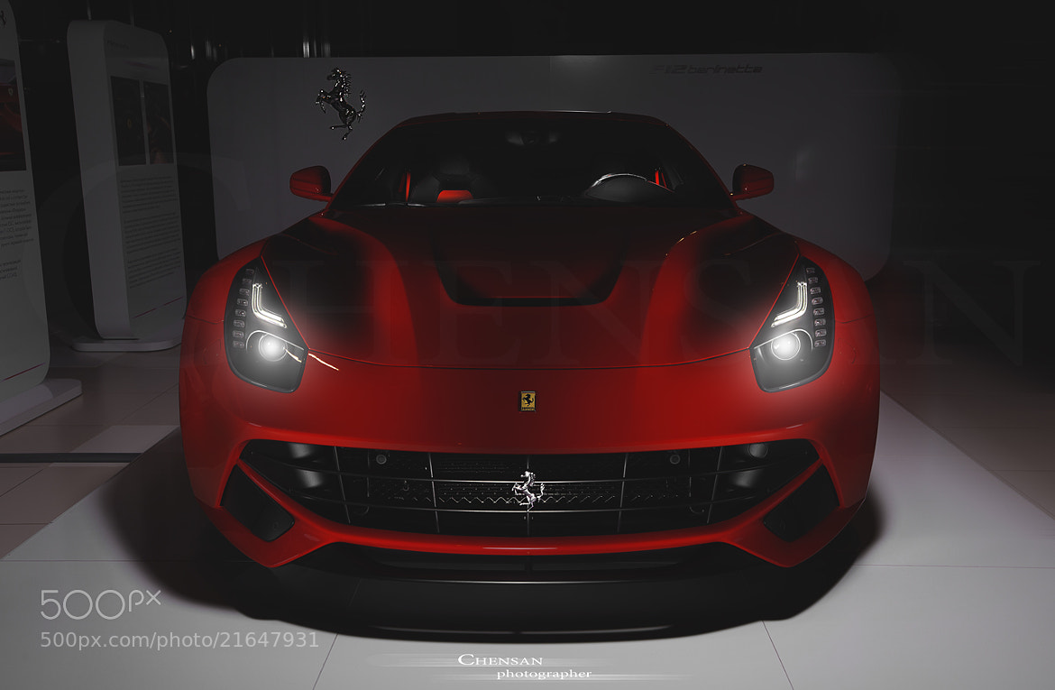 Photograph horse heart . Ferrari F12 Berlinetta . by Chensan by Аlexey  Chensan on 500px