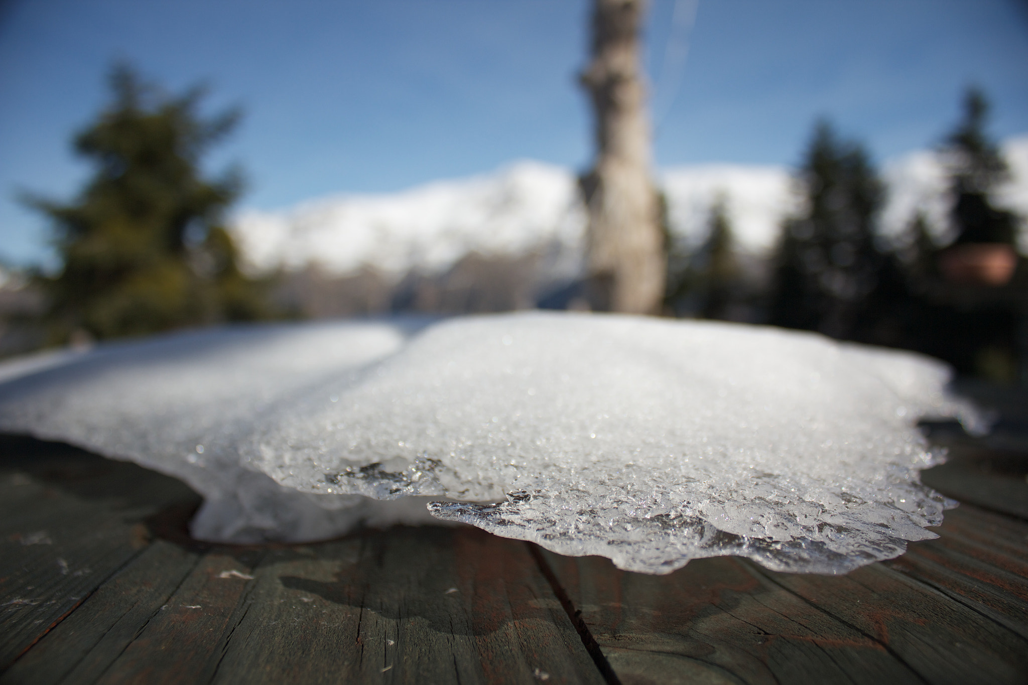 Photograph ...just a piece of snow on my table by Kostas K on 500px