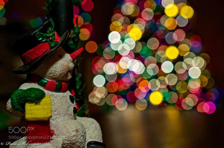 Photograph Snowman by Paris Mckenzie on 500px