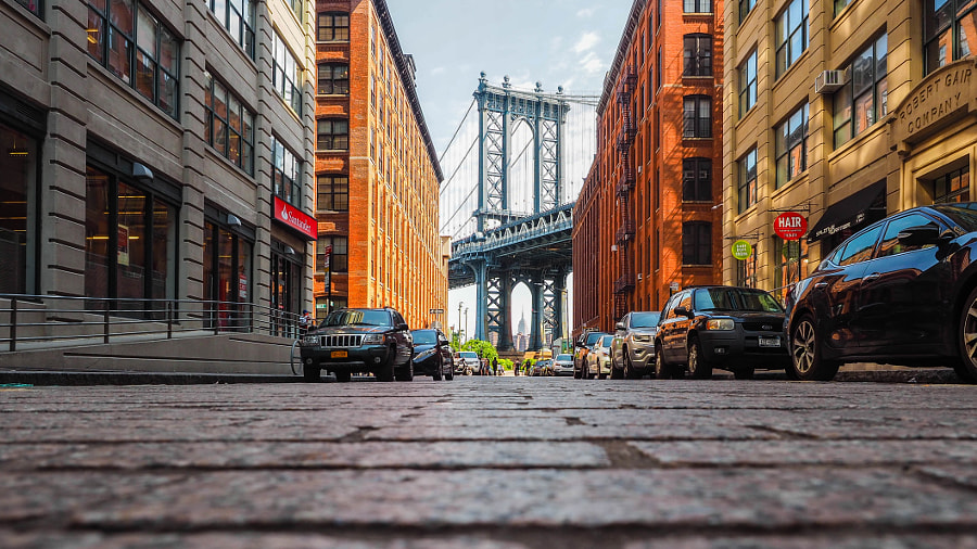 Manhattan Bridge by Nancy Lundebjerg on 500px.com