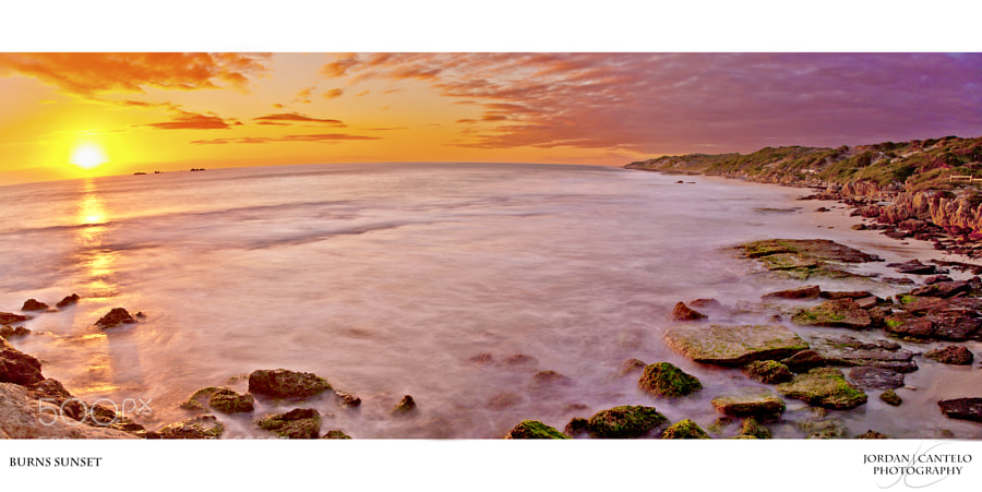 Another stunning sunset over the Perth coast