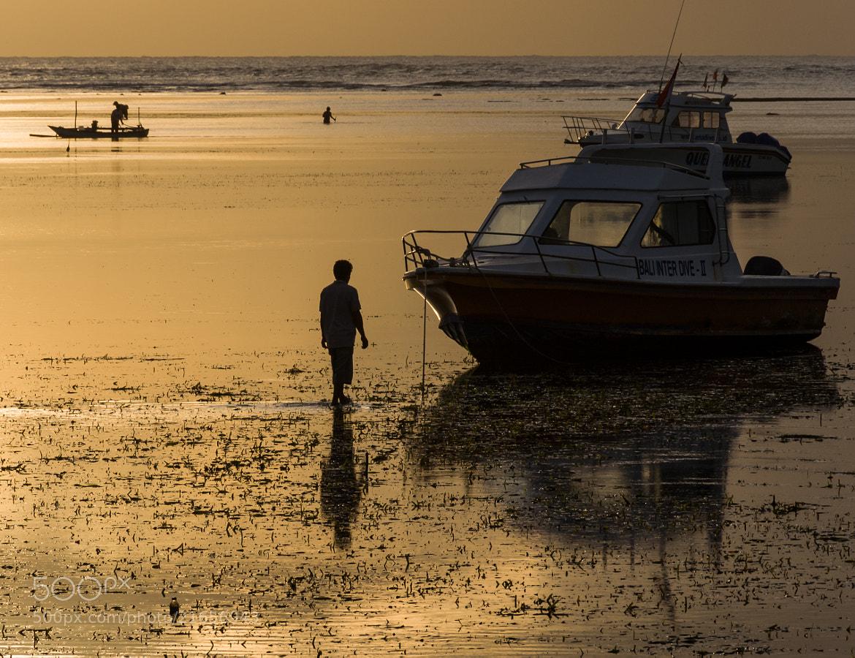 Photograph Bali Dive Boat by Jason Waltman on 500px