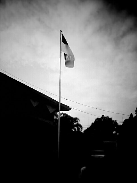 Photograph Black & White Flag by Dona Pasa on 500px