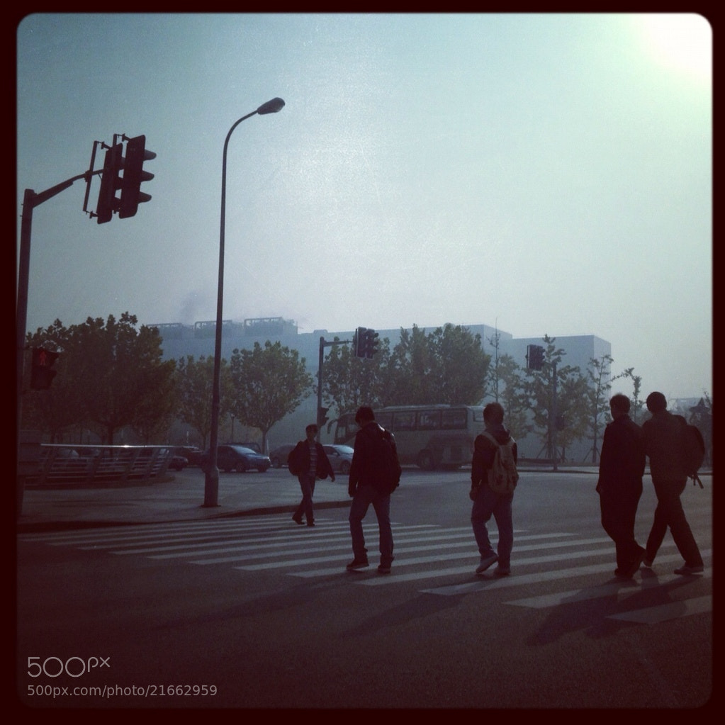 Photograph way to work by Tao Peng on 500px