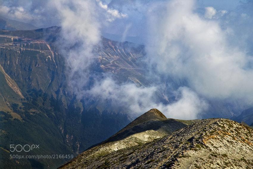 Photograph Vista della Sibilla dalla cima del Monte Vettore by mario pignotti on 500px