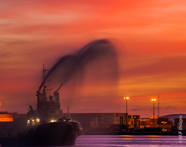 Photograph Fire Boat  by Michael Flaherty on 500px