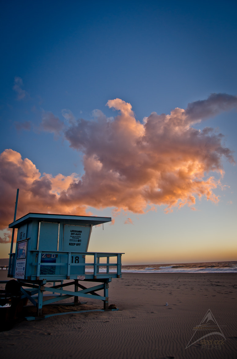 Photograph Lifeguard Tower by Brandon Lied on 500px