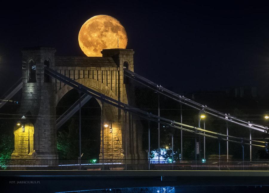 Moon and Bridge
