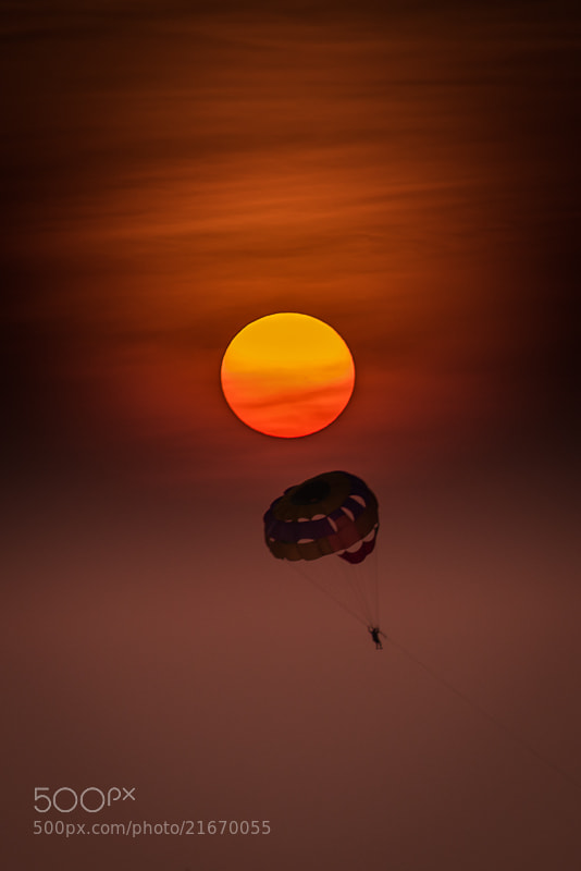 Photograph Burning Sun by Mike Kolesnikov on 500px