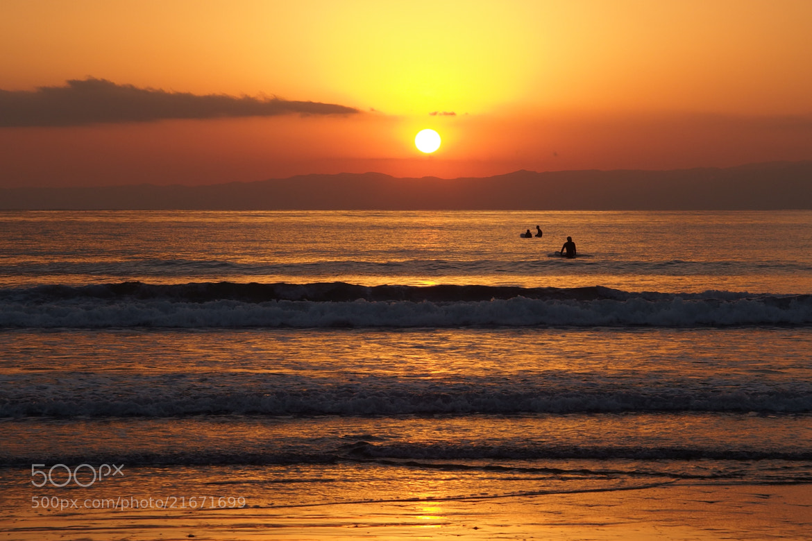 Photograph Surfer at Sunset by Aki. Ono on 500px