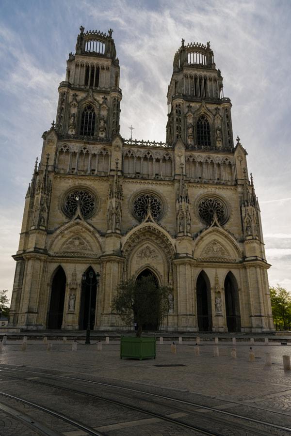Orléans Cathedral (Basilique Cathédrale Sainte-Croix d'Orléans) de Piña Blog no 500px.com