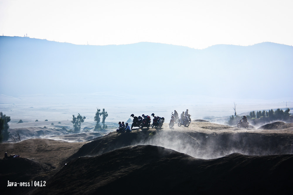 Photograph Visitors of Mt. Bromo, Indonesia by Aey Saowalak on 500px