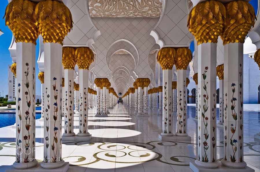 Sheikh Zayed Grand Mosque by Alexey Nikolaev (alexeynikolaev87)) on 500px.com