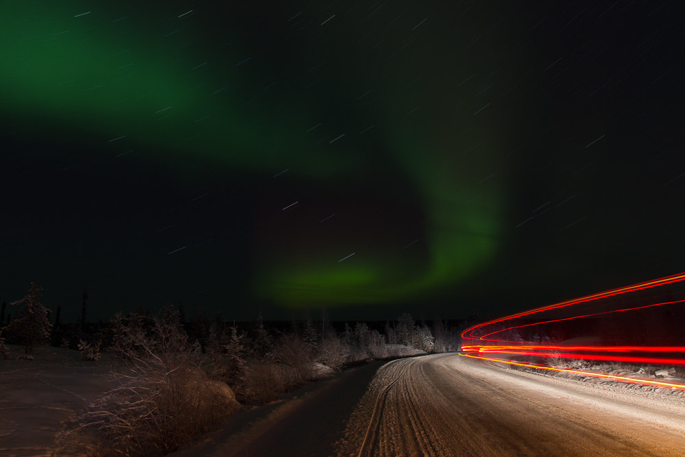 Photograph Aurora Traces by Ian Wills on 500px