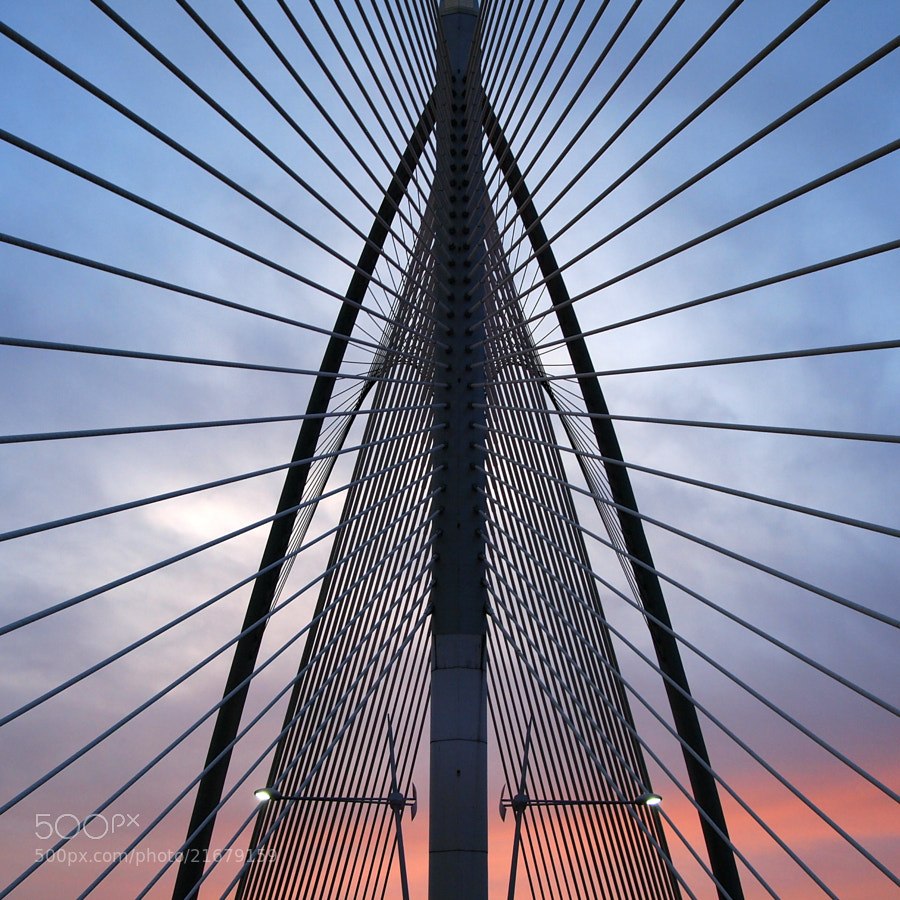 Silver steel bridge by jan madsen (madsen4300)) on 500px.com