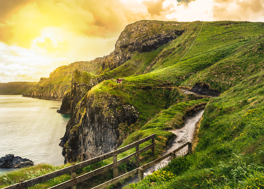 Carrick-a-Rede by Thomas Schuster on 500px.com