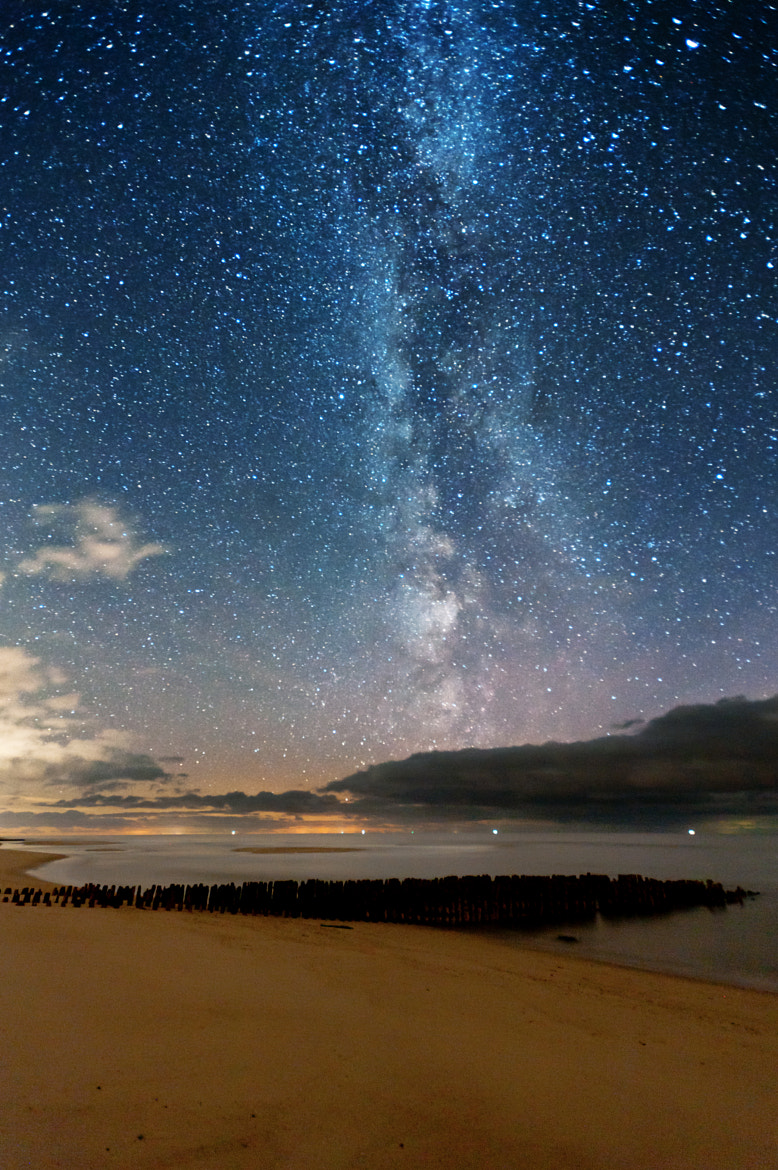 Photograph Stars over North Sea by Thomas Zimmer on 500px