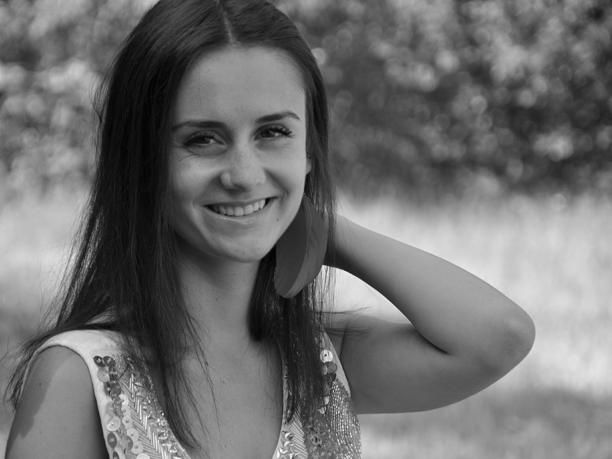 Photograph Smile in b/w by Mihaela Floriana Soare on 500px